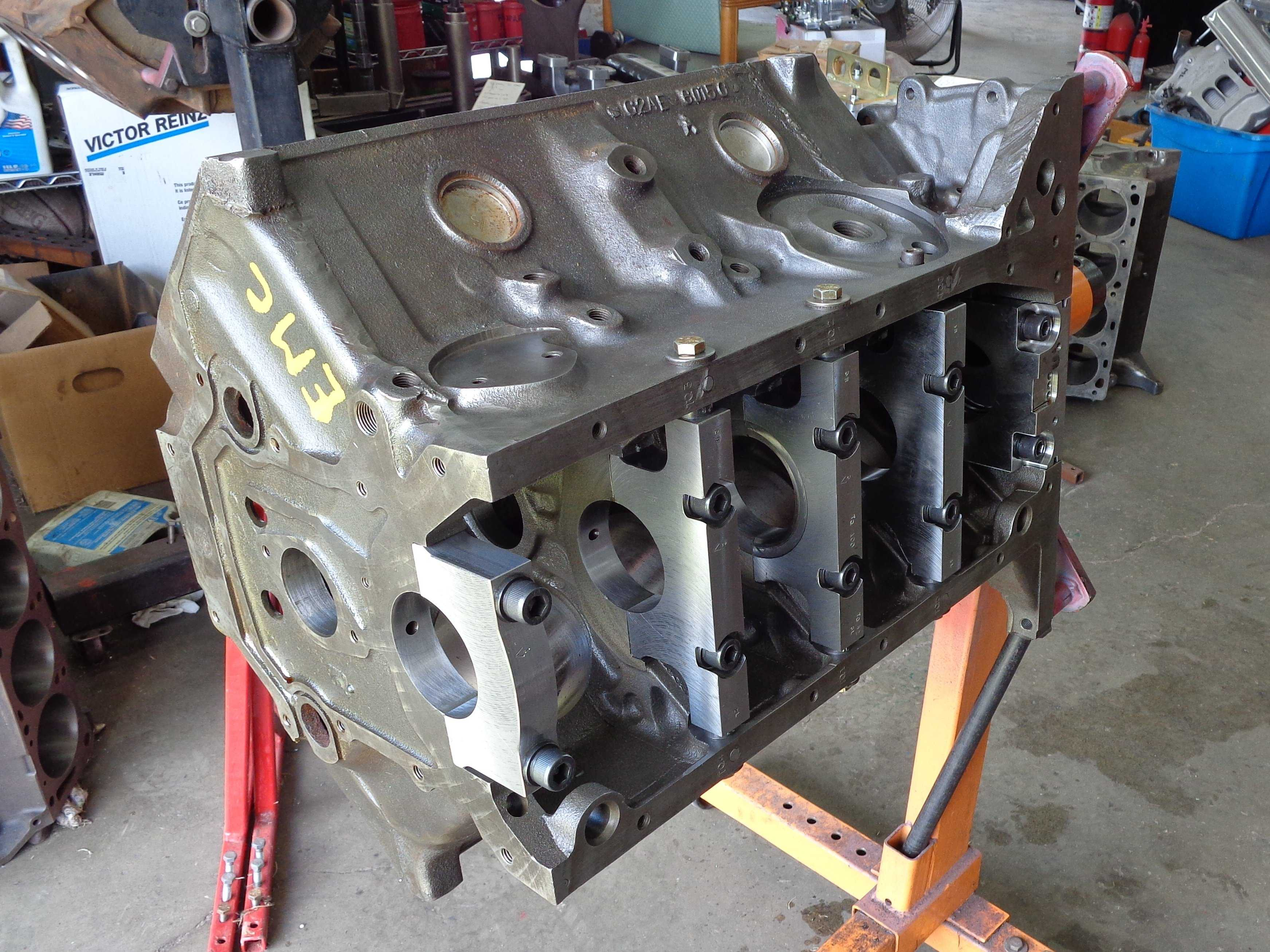Sneak Peek: Ted Eaton's 2018 Engine Masters Challenge Engine is a 600HP Y-Block!