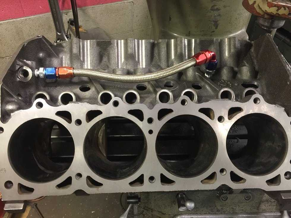 Building a 442ci AMC for Pro-Touring Use