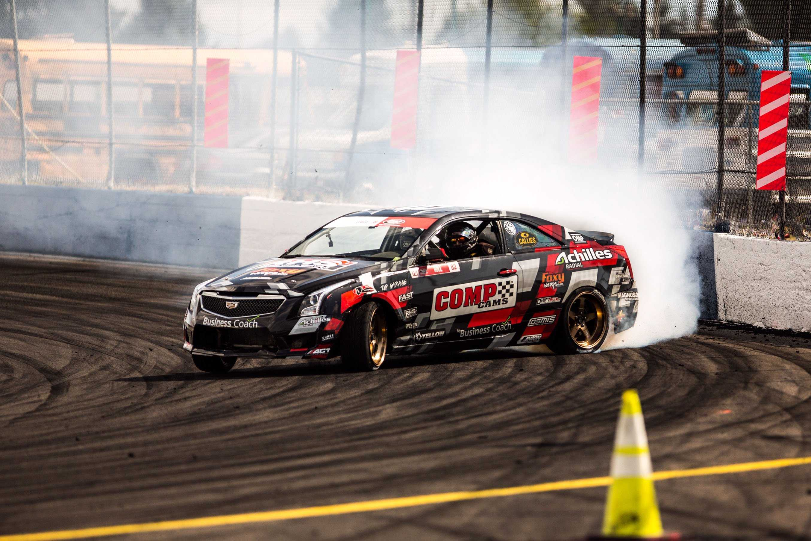Taylor Hull's Cadillac ATS-V Brings Class And Big-Cube LS7 Power To Formula Drift