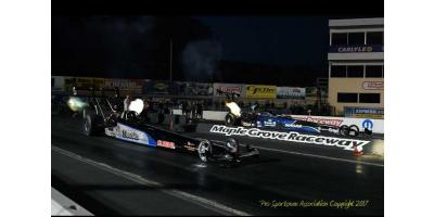 Going Fast Is A Family Affair For Top Alcohol Drag Racer, Jackie Fricke