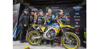 Autotrader/Yoshimura/Suzuki Factory Racing's Justin Hill Wins in San Diego