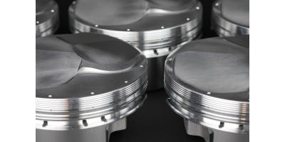 SR20 BBC Drag Racing Pistons from JE