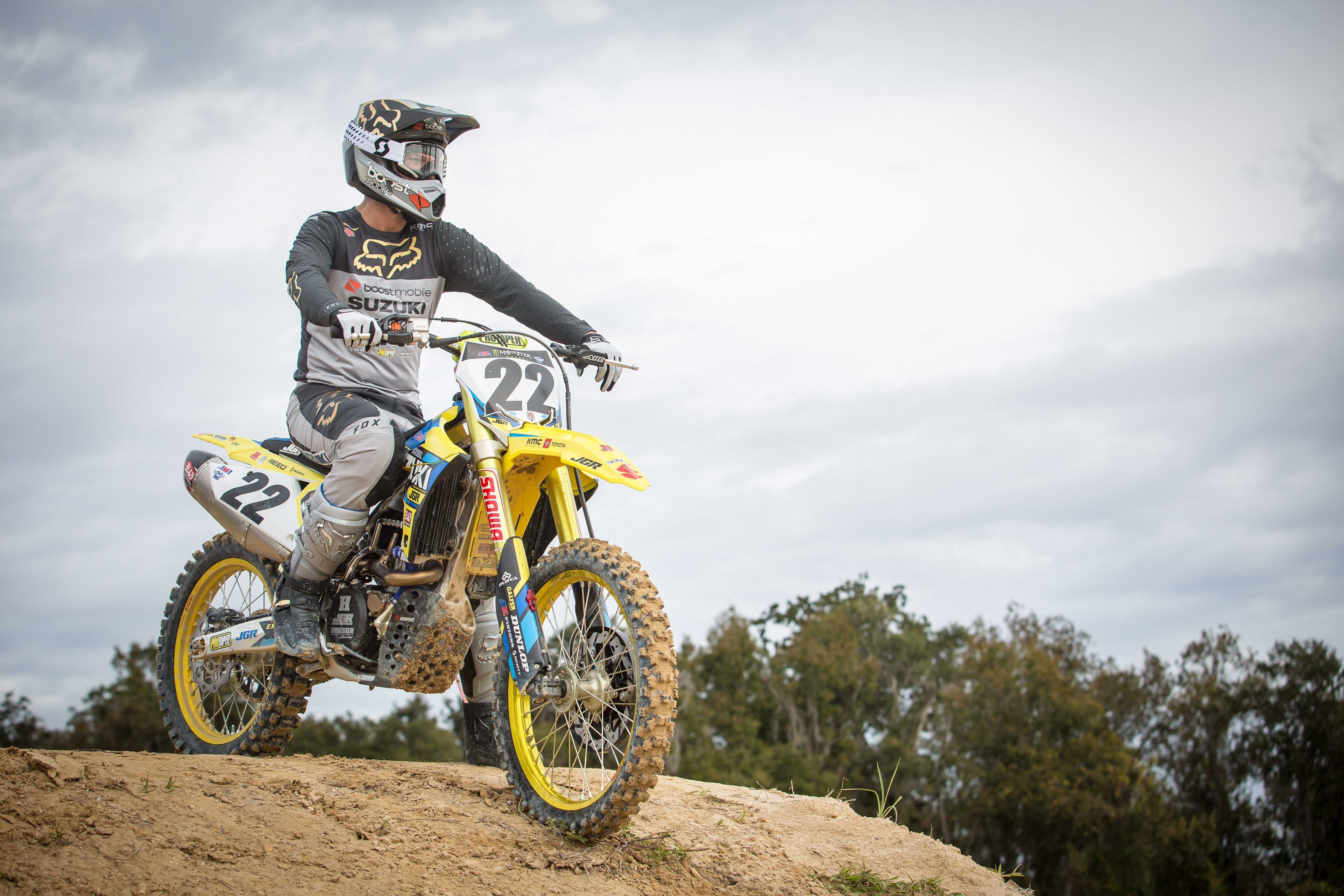An Inside Look at Chad Reed's 2019 Factory Suzuki RM-Z450